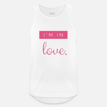 I'm in love - valentine's day 14.02. - gift idea - Men's Sport Tank Top