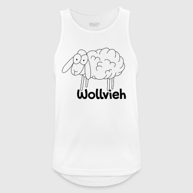 wool cattle - Men's Breathable Tank Top
