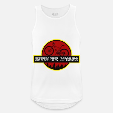Infinite infinite cycles - Men's Sport Tank Top