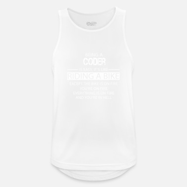 Coder Coder - Men's Sport Tank Top
