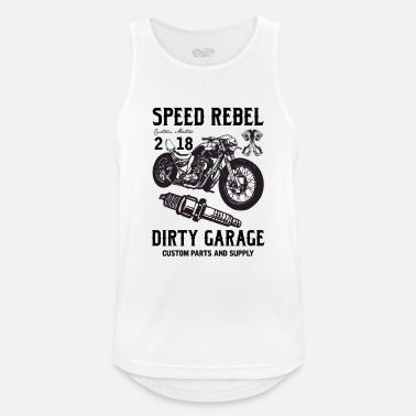 Rebel SPEED REBELL - Men's Breathable Tank Top