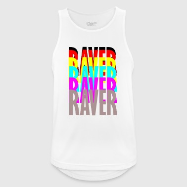 raver raver raver raver - Men's Breathable Tank Top