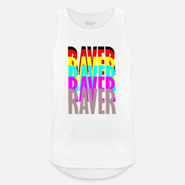 Raver raver raver raver raver - Men's Breathable Tank Top
