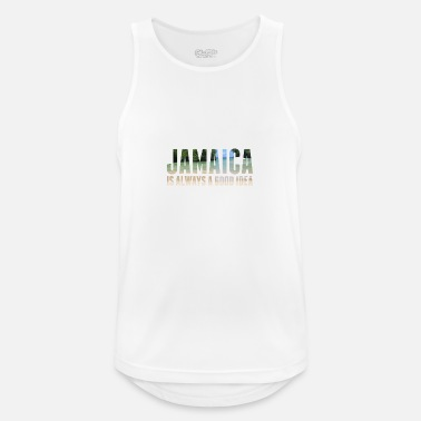 Caribbean Jamaica is always a good idea - Men's Sport Tank Top
