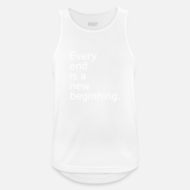 End The End - Men's Sport Tank Top