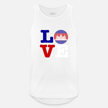 Cambodia CAMBODIA HEART - Men's Breathable Tank Top