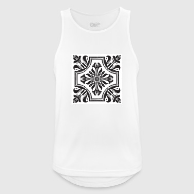 Drawing - Men's Breathable Tank Top