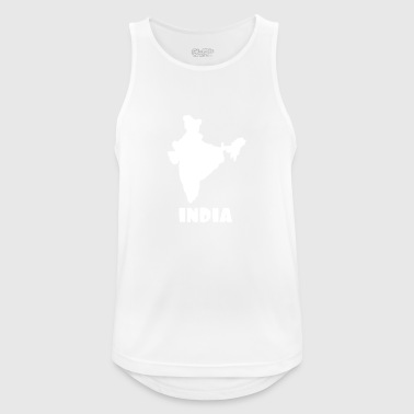 Indie india - Pustende singlet for menn