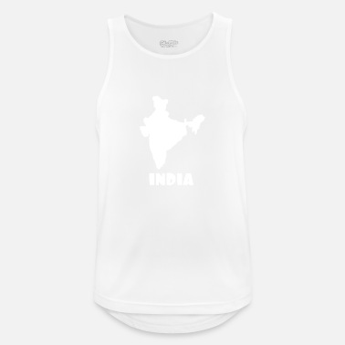 India india - Men's Breathable Tank Top