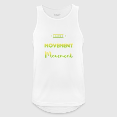 Movement design movement - Men's Breathable Tank Top