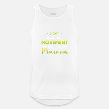 Movement design movement - Männer Tank Top atmungsaktiv