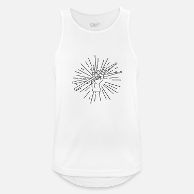 Drumsticks Drumsticks - Men's Breathable Tank Top