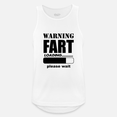 Humour Loading Fart - Men's Breathable Tank Top