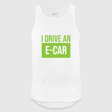 I drive to e-car - Men's Breathable Tank Top