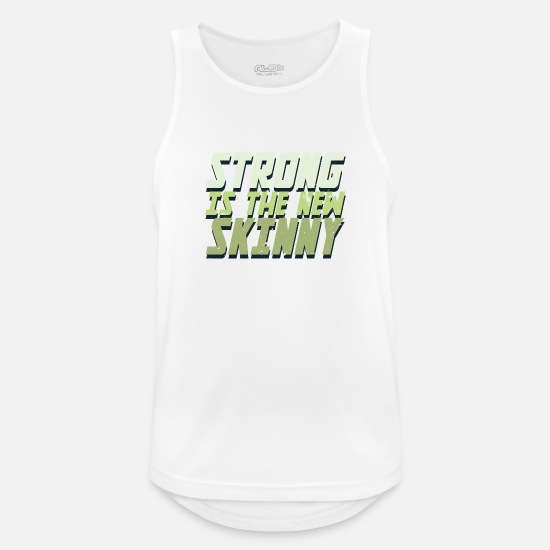 Gift Idea Tank Tops - Strength training - Men's Sport Tank Top white