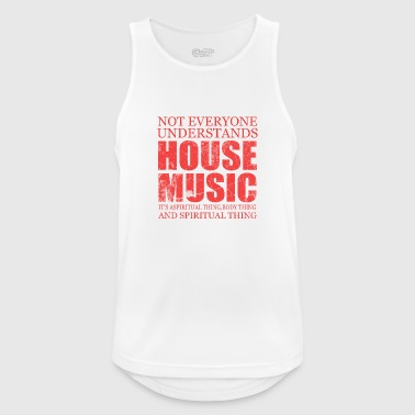 House Music House music - Men's Breathable Tank Top