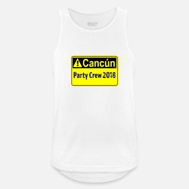 Cancun Cancun Spring Break Tshirt - Men's Breathable Tank Top