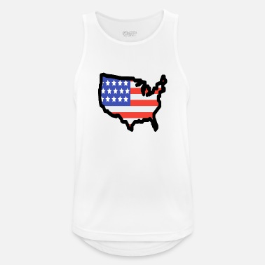 State United States - Men's Sport Tank Top