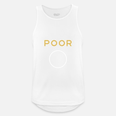 Poor Poor poor - Men's Breathable Tank Top