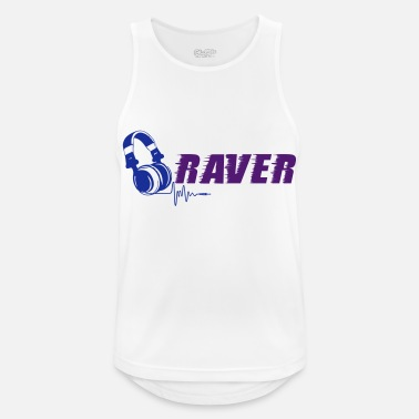 Raver Raver - Men's Breathable Tank Top