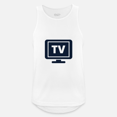 Tv Tv - Pustende singlet for menn