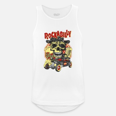 Rockabilly rockabilly - Sports tanktop mænd