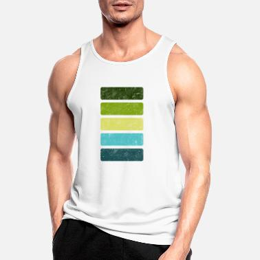 color scheme very colorful Sommer Sommerfarben - Männer Sport Tanktop