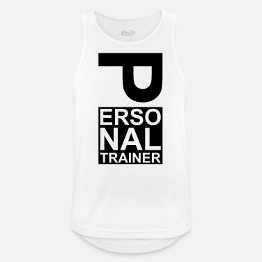 Personal Trainer Personal trainer coach - Men's Breathable Tank Top