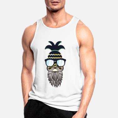 Glass Underwear Funny perfect hipster pineapple - Men's Sport Tank Top