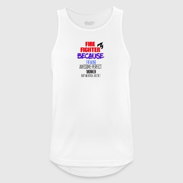 Fire Fighter Fire fighter - Men's Breathable Tank Top