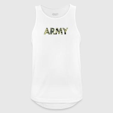 Army - Men's Breathable Tank Top