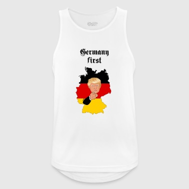 Germany first - Männer Tank Top atmungsaktiv