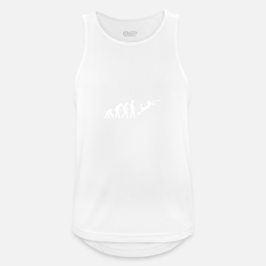 Frisbee Evolution Evolution Frisbee - Men's Sport Tank Top
