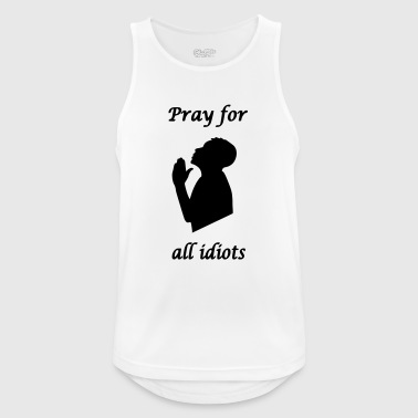Pray for - Men's Breathable Tank Top
