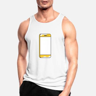 Comics Taxi - big smartphone - Men's Sport Tank Top
