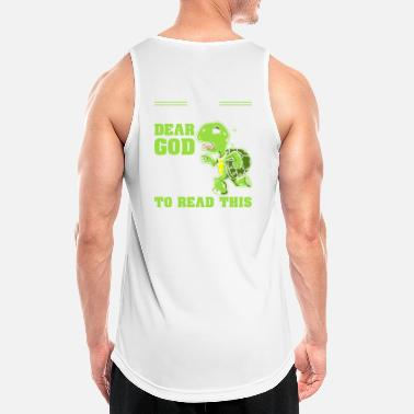 Slow Slow runner turtle running run gift - Men's Sport Tank Top