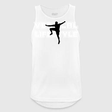 vertical lifestyle 2 - Men's Breathable Tank Top