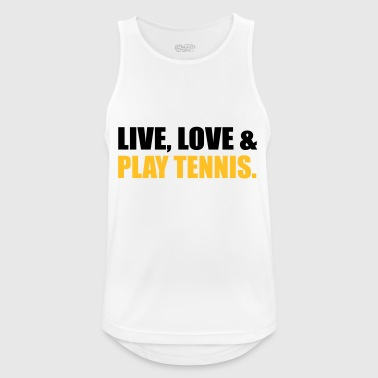 2541614 14918924 Tennis - Men's Breathable Tank Top