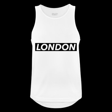 Londres - Camiseta sin mangas hombre transpirable