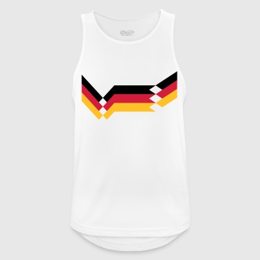 Germany retro football design national team EM World Cup - Men's Breathable Tank Top