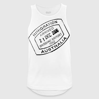 Travel stamp - Men's Breathable Tank Top