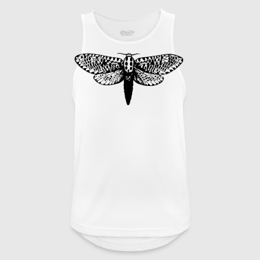 Moth drawing - Men's Breathable Tank Top
