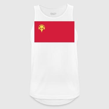 Music China - Männer Tank Top atmungsaktiv
