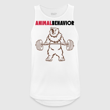 Animal behavior color above - Men's Breathable Tank Top