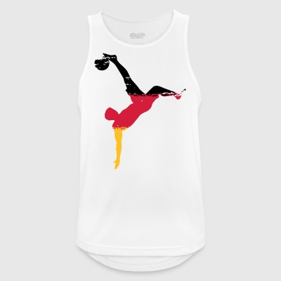 Falling Back Team Germany - Bicicle Kick - Men's Breathable Tank Top
