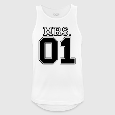MRS. 01 Mr & Mrs Couple JGA Partner Look Part 2 Couple - Men's Breathable Tank Top
