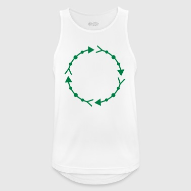 Circle frame - Men's Breathable Tank Top
