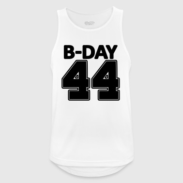 44 years number number 44th birthday numbers jersey - Men's Breathable Tank Top