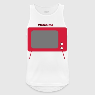 old television - Men's Breathable Tank Top