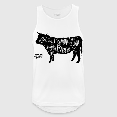 Go Vegan - Men's Breathable Tank Top